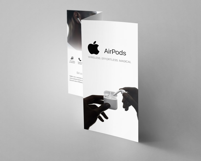 Folleto Apple Airpods 0
