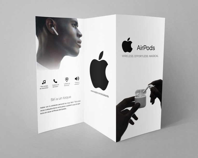 Folleto Apple Airpods 1