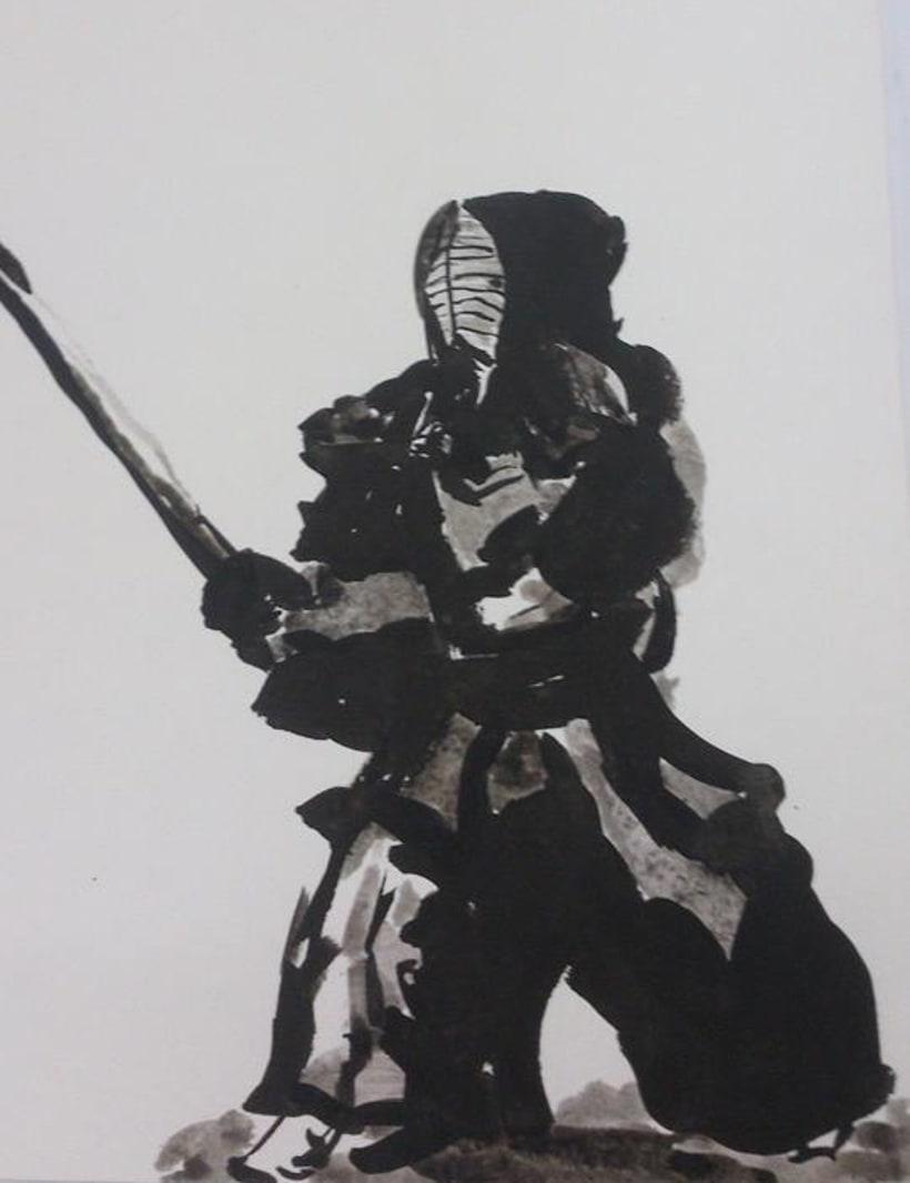 Kendo style Ukio-e 1