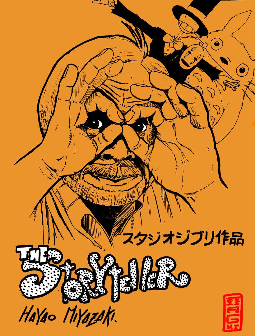 El cuentacuentos - Tributo a Hayao Miyazaki 0