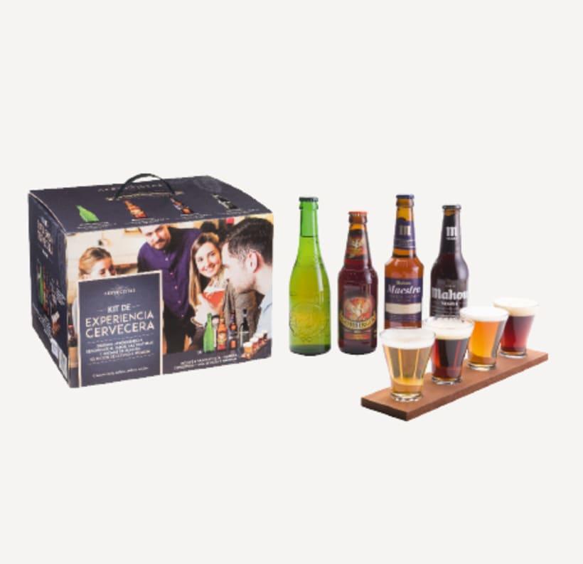 Kit Experiencia Cervecera - LOS CERVECISTAS 0