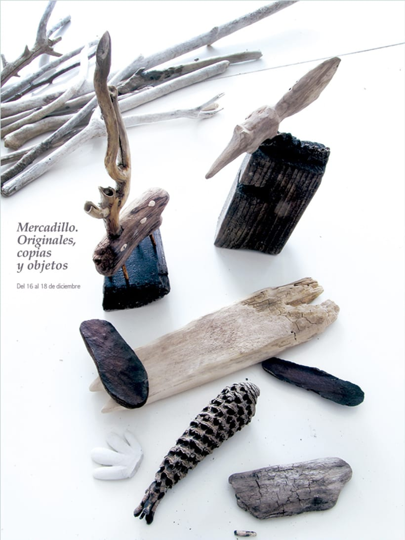 Esculturas. Objetos encontrados. 1