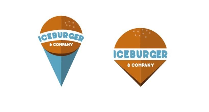 Diseño de logotipo: Iceburger 1