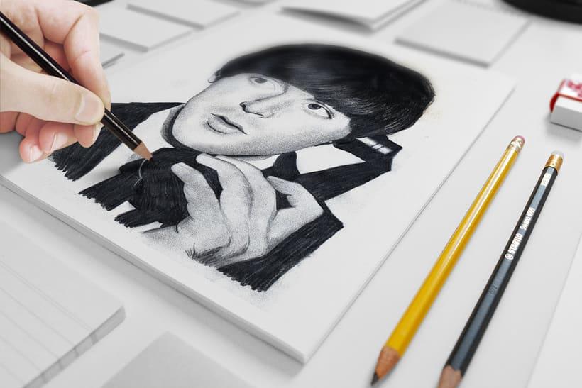 Ilustración: Paul McCartney -1