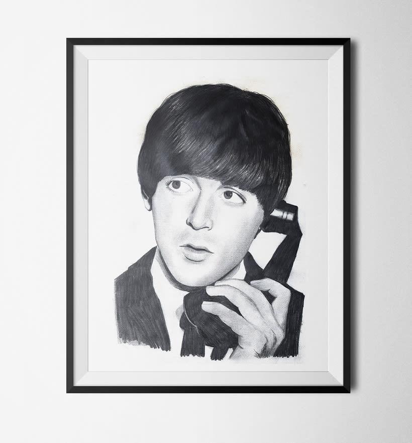 Ilustración: Paul McCartney 0