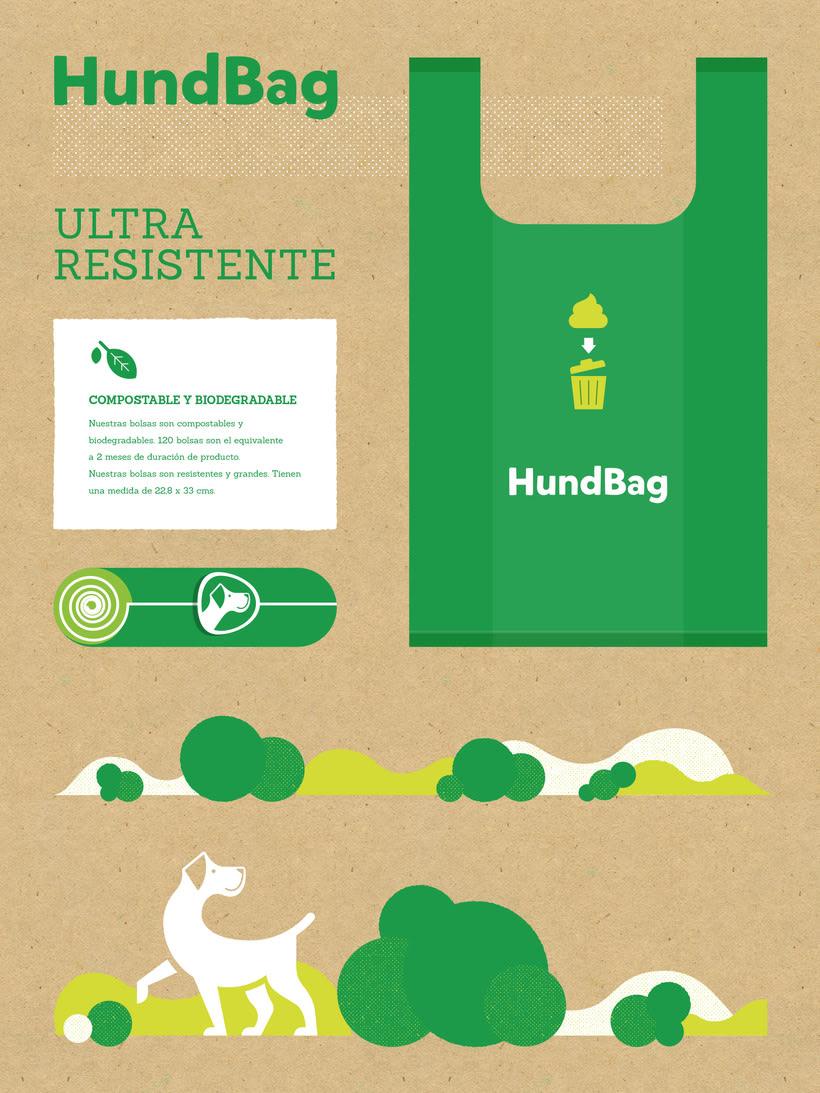 Identidad y Packaging Hundbag 1