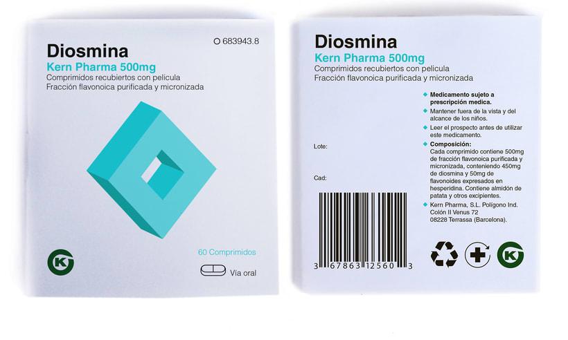 Rediseño del packaging de medicamentos KERN PHARMA 4
