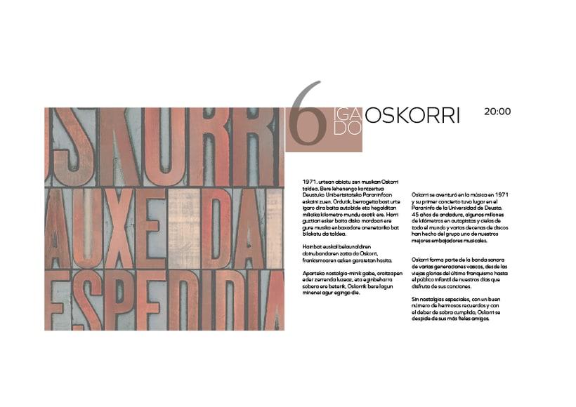 Rediseño de producto Editorial - Folleto informativo Getxo Folk 3