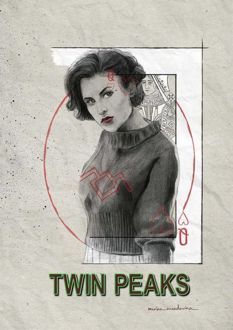 Audry Horne, reina de corazones. Twin Peaks 0