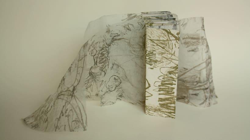 Flora, libro de artista 1