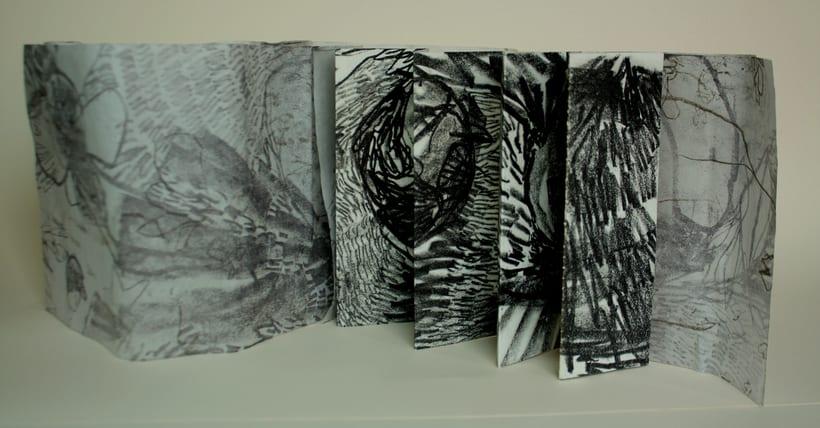 Flora, libro de artista 2