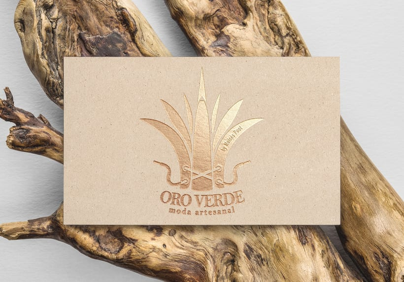 """Branding """"Oro Verde""""  Moda Artesanal 2"""