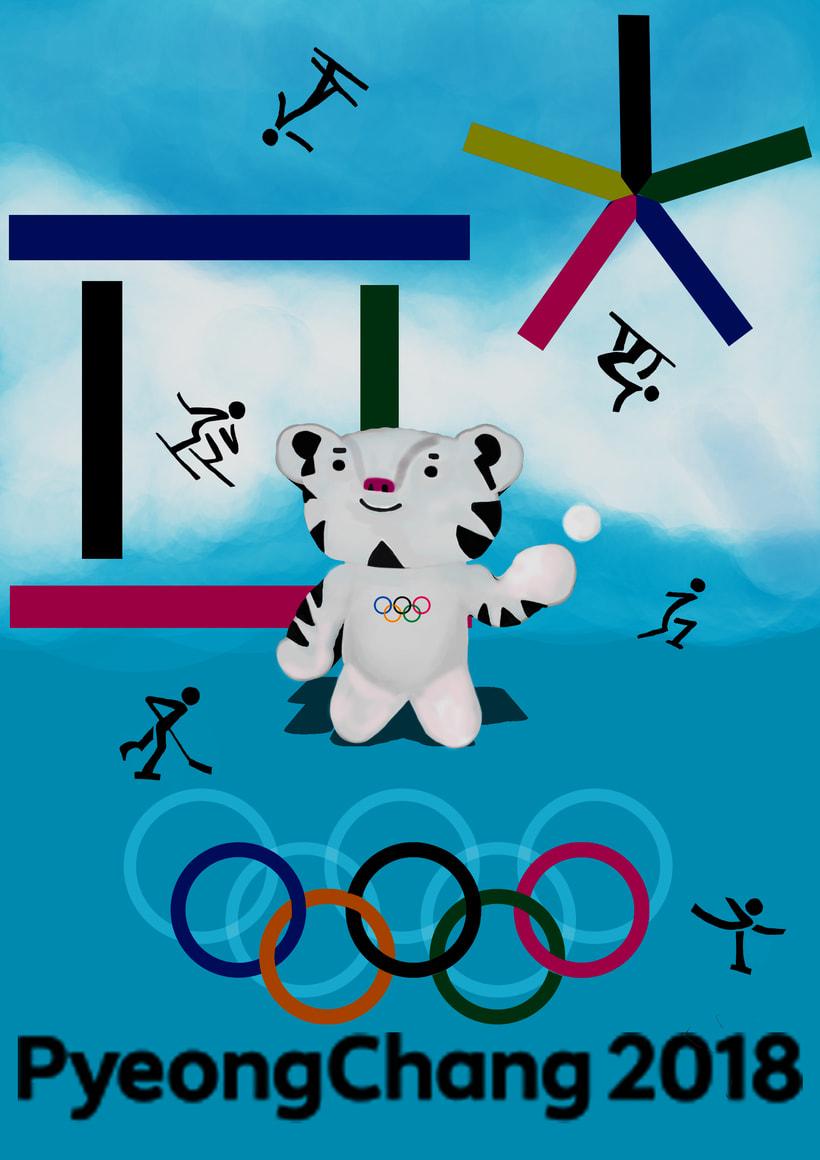 Proyecto 11 - Cartel Juegos Olímpicos 0