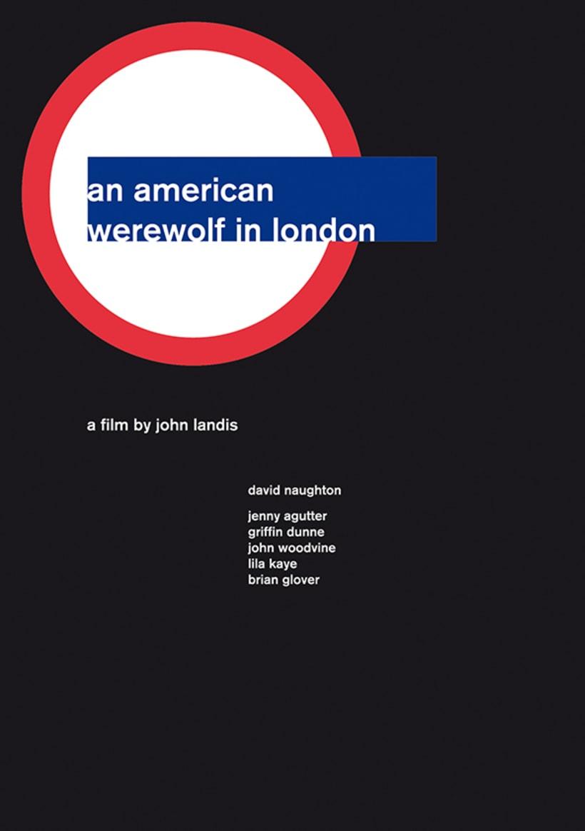 Carteles de cine // Swiss Style Design 1