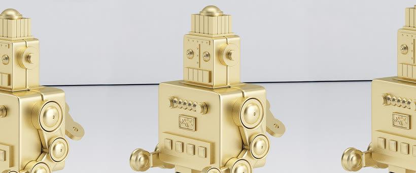 Golden Robot 1