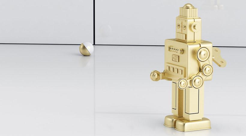 Golden Robot 3