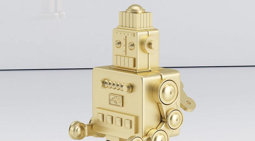 Golden Robot 4