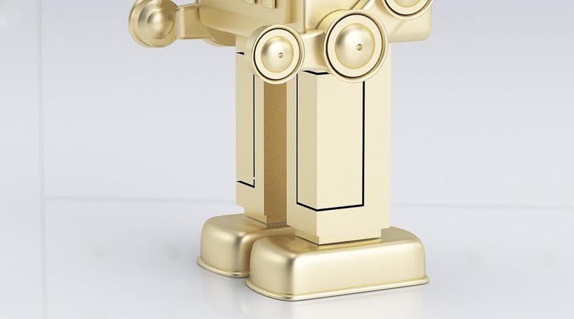 Golden Robot 5