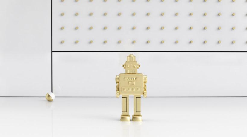 Golden Robot 6