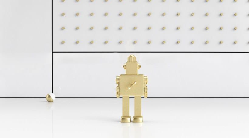 Golden Robot 7