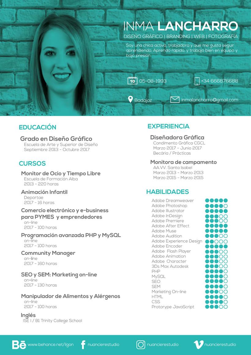 Creación de Curriculum Vitae | Domestika