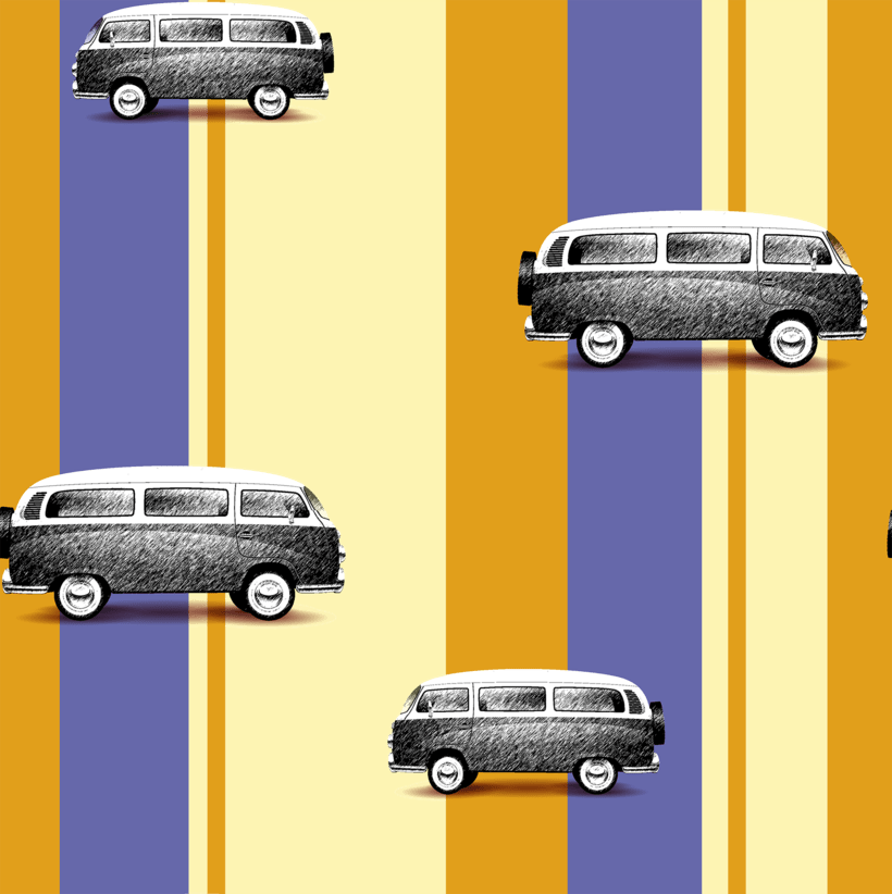 Patterns vintage y rayas -1