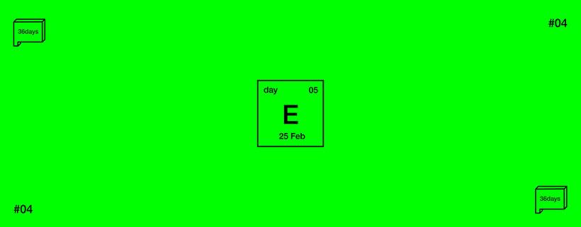 E · 36 Days of Type 0
