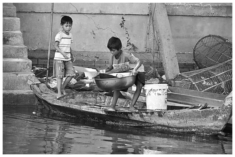 Tailandia y Camboya en Blanco y Negro 0