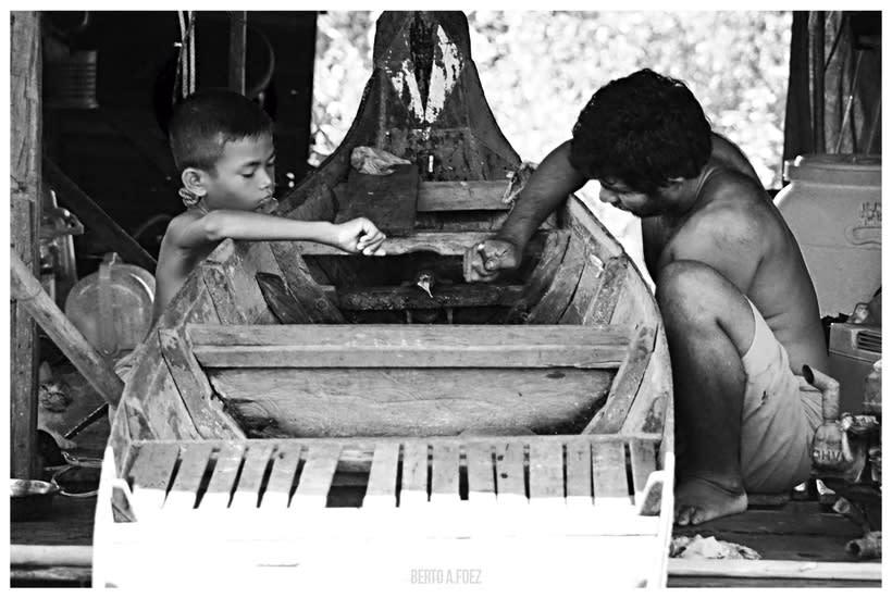 Tailandia y Camboya en Blanco y Negro 1