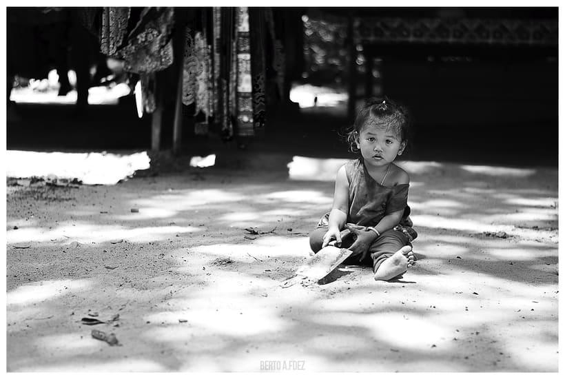 Tailandia y Camboya en Blanco y Negro 7