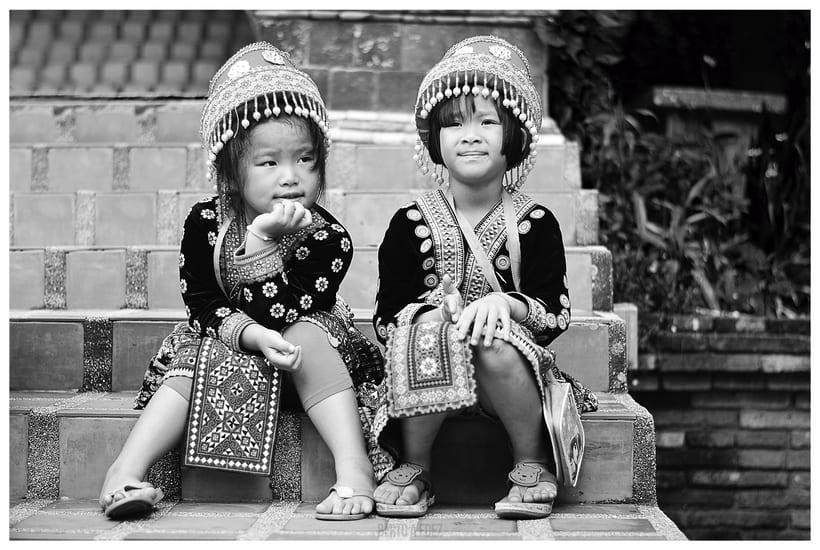 Tailandia y Camboya en Blanco y Negro 8