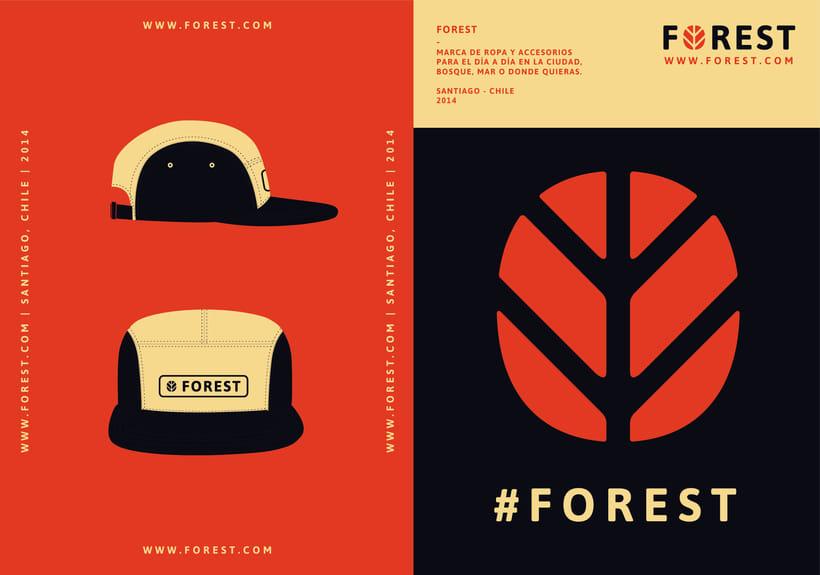 FOREST, diseño de identidad gráfica y marca 3