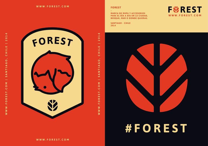 FOREST, diseño de identidad gráfica y marca 1