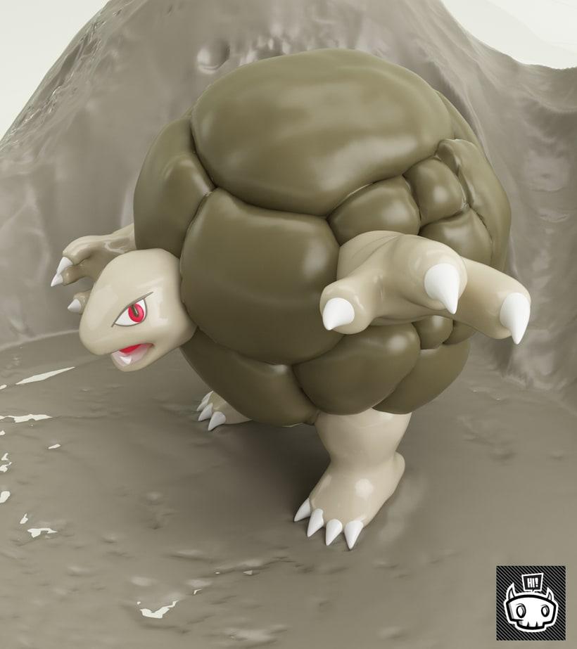 Pokémon - Golem #76 -1