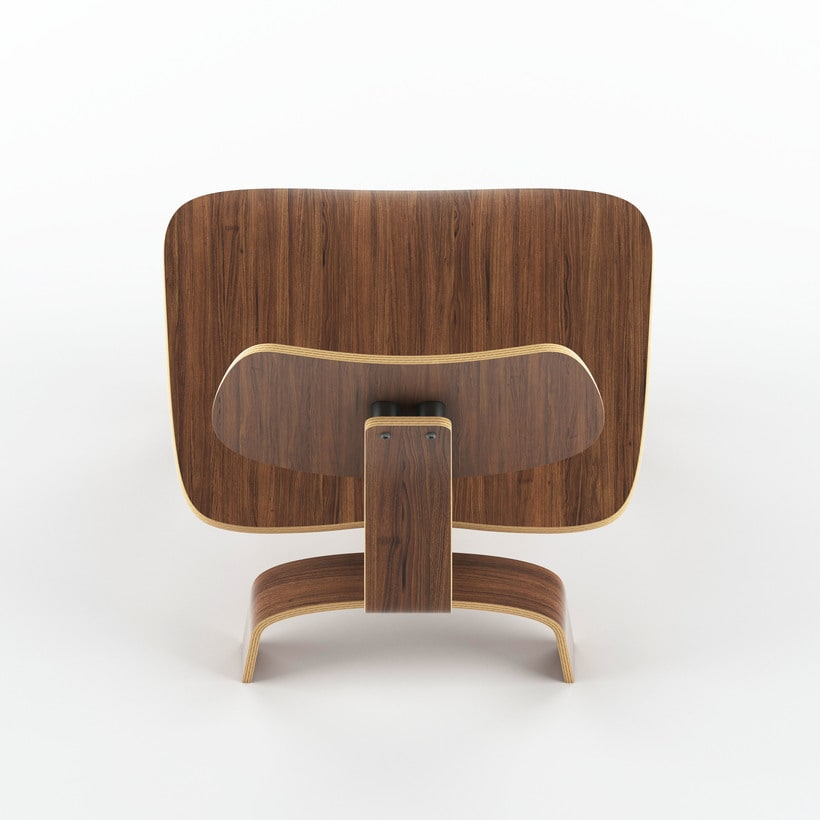 Eames Wood Chair -1