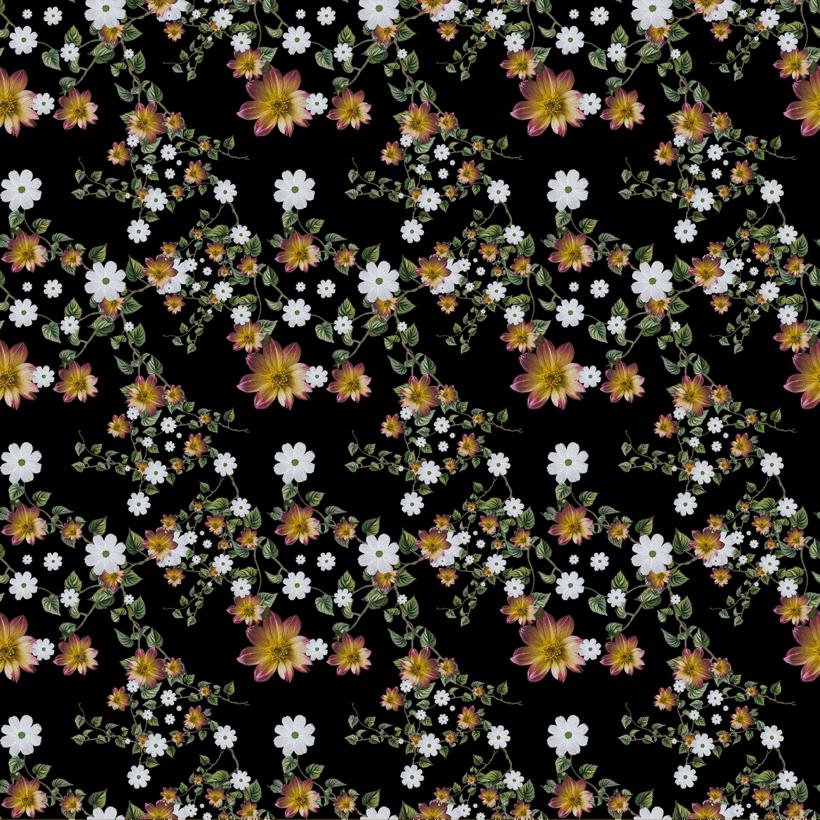 pattern floral 0
