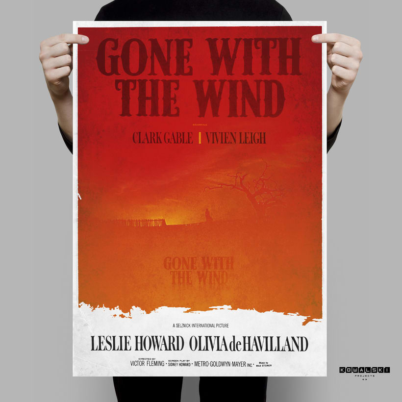 GONE WITH TE WIND. Poster 0