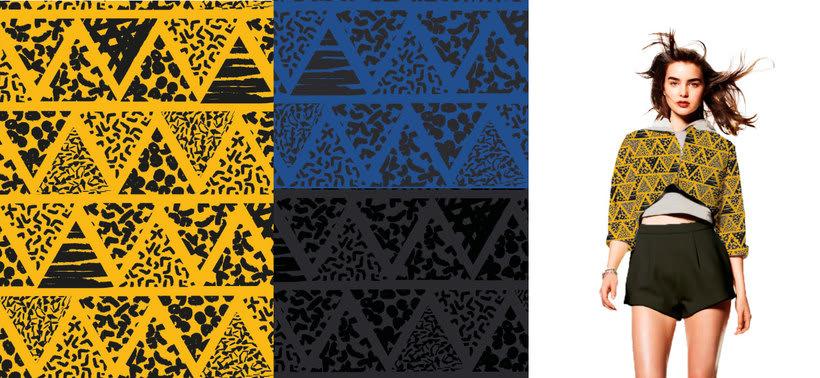 Diseño Textil - Rapport 2
