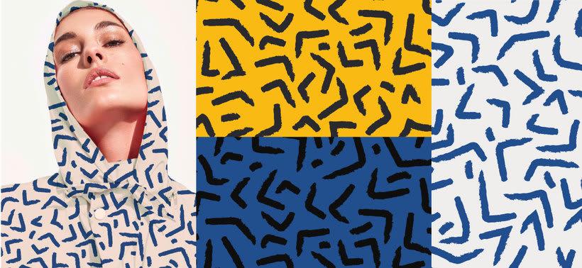 Diseño Textil - Rapport 3