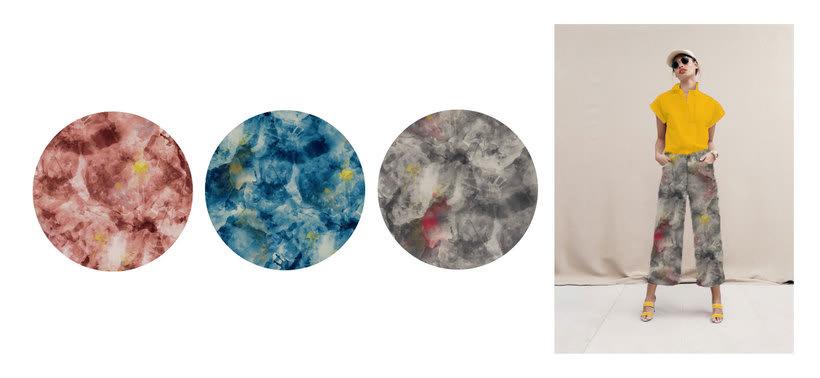 Diseño Textil - Rapport 4