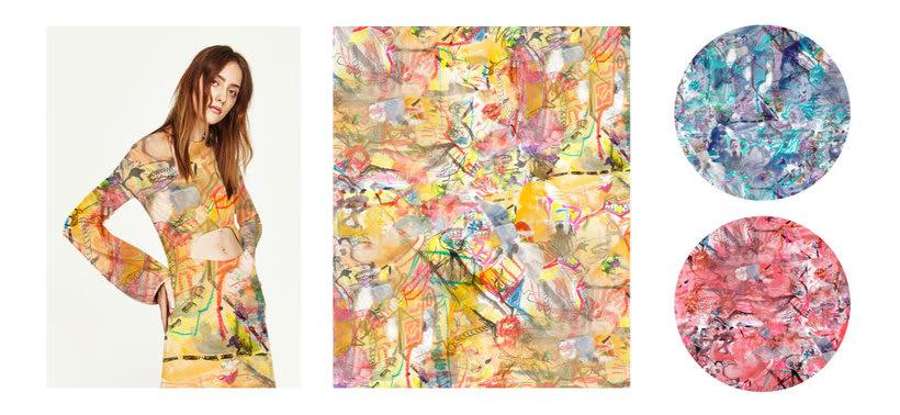 Diseño Textil - Rapport 6