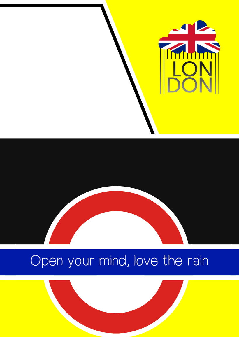 Cartel publicitario London -1