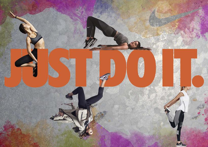 Cartel publicitario Nike -1