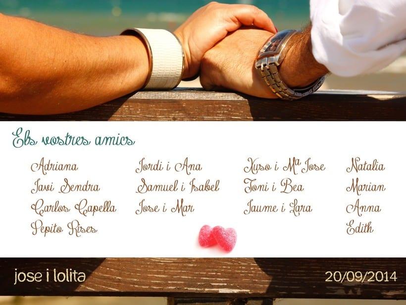 Tarjeta felicitación boda 0