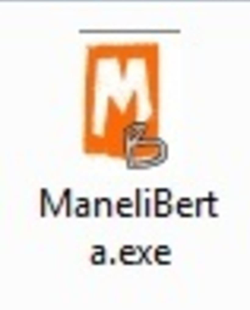 """Logotipo Juego """"Manel i la rateta Berta"""" -1"""