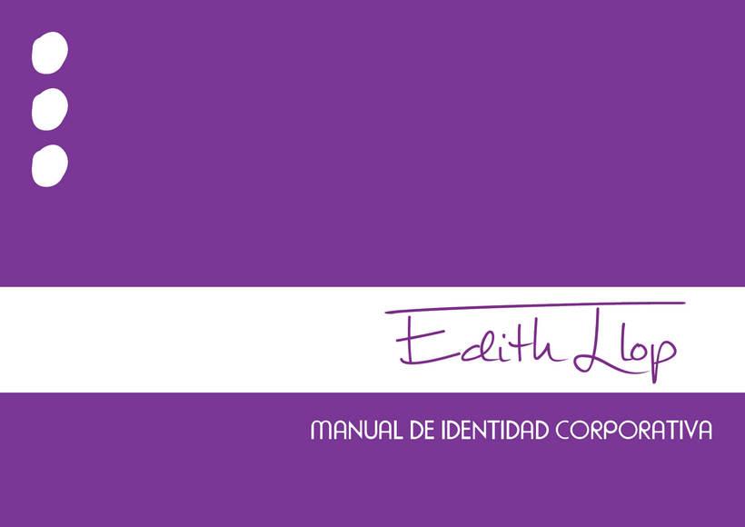 Manual de Identidad Corporativa - Edith Llop -1