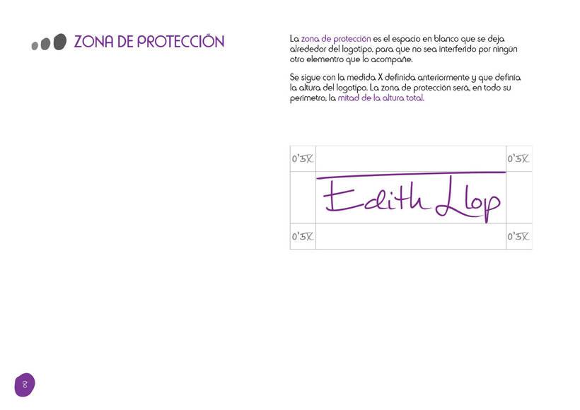 Manual de Identidad Corporativa - Edith Llop 6