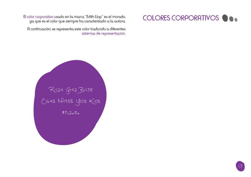 Manual de Identidad Corporativa - Edith Llop 11