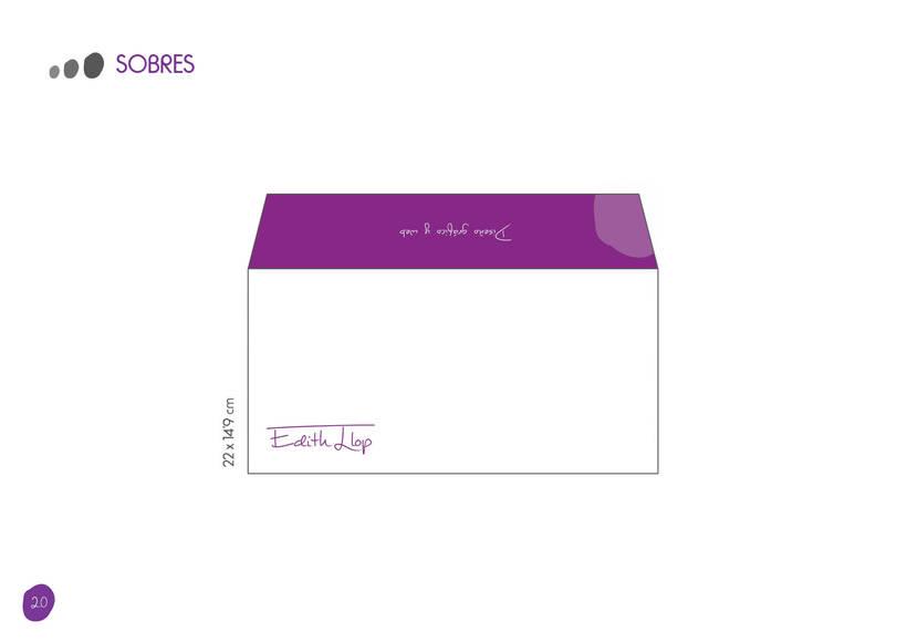 Manual de Identidad Corporativa - Edith Llop 18