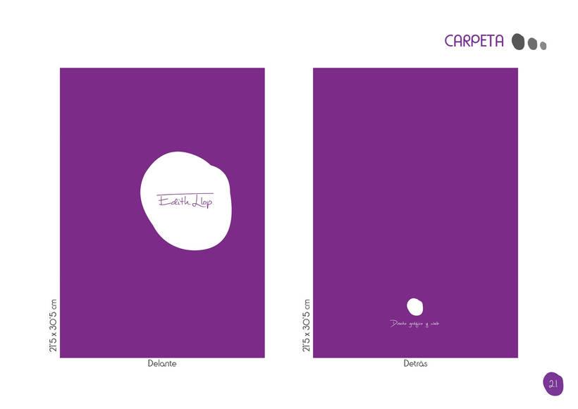 Manual de Identidad Corporativa - Edith Llop 19